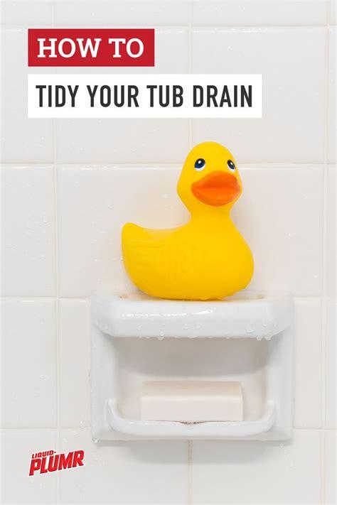 Liquid Plumr Bathtub by Best 25 Unclog Tub Drain Ideas On Diy Drain