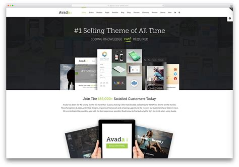 avada theme wordpress demo the most popular premium wordpress themes of 2018 colorlib
