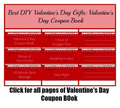 printable valentine s day coupon book template free printable valentine s day cards budget earth