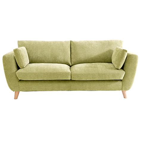 Sloane Large Sofa In Green Sofas Armchairs Asda Direct