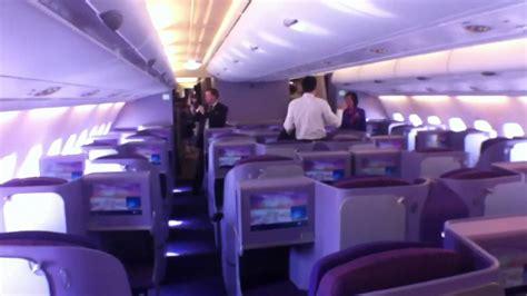 Thai Cabin by Airliners De Thai Airways A380 Cabin Walkthrough