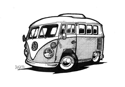 volkswagen van cartoon vw bus by toby182 on deviantart