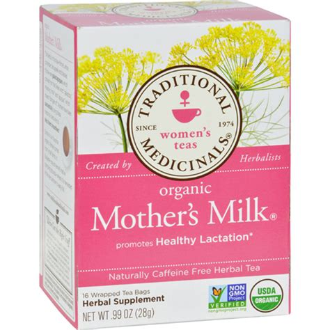 Traditionals Medicinals Organic Mothers Milk Tea Womans Tea bettymills organic s milk tea caffeine free 16