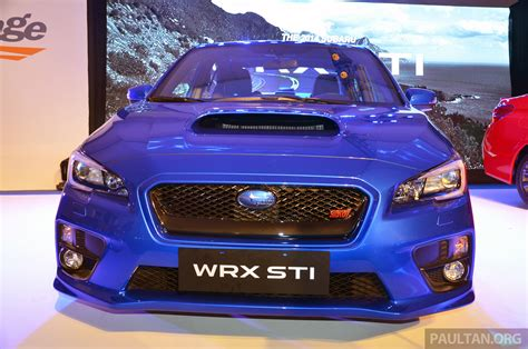 tan subaru wrx subaru wrx and wrx sti launched in the region sports