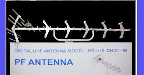 Antena Pf Hdu 19 pasang antena tv yagi hd u 19