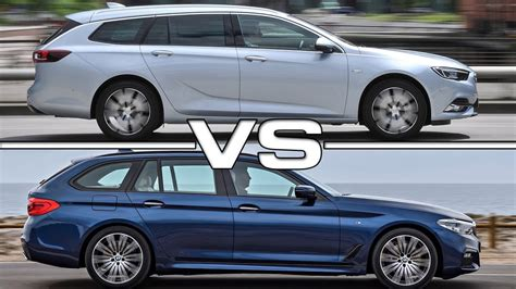 opel bmw 2018 opel insignia sports tourer vs 2017 bmw 5 series