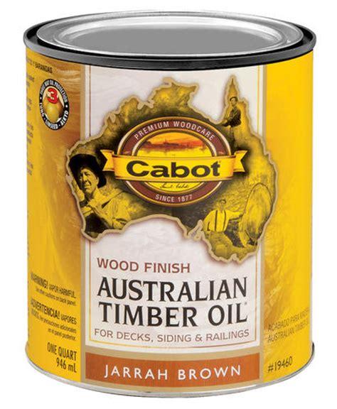 cabot jarrah brown  voc australian timber oil wood