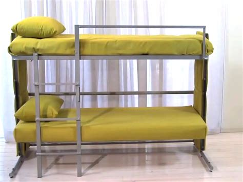 couches that turn into beds sofa that turns into bunk beds transforming sofa bunk bed