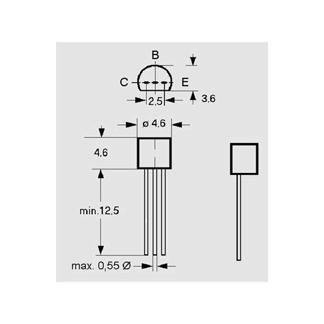 transistor bc548c datenblatt bc 337 25 kleinleistungstransistoren elpro elektronik