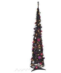 black pop up christmas tree 6ft argos 163 29 99 hotukdeals
