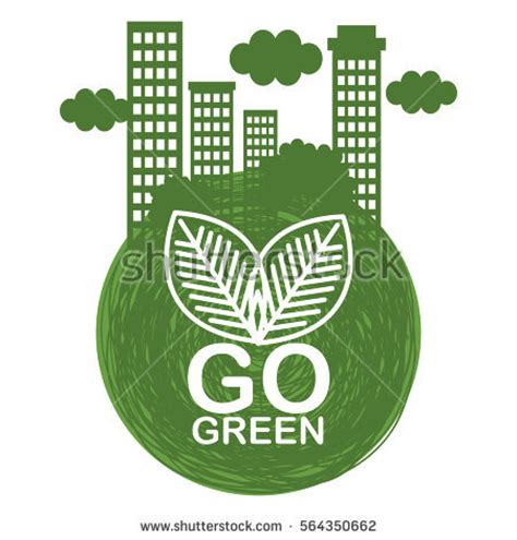 Kaos Go Green Collection Earth Text go green concept stock images royalty free images vectors