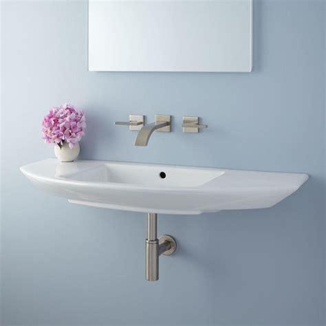 wall mount glass sink best 25 glass sink ideas on bathroom sink