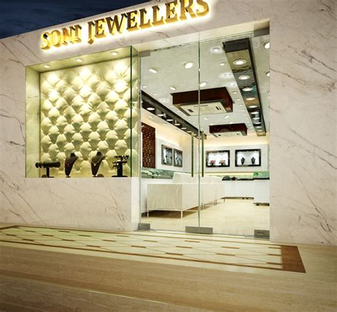 Home Interior Designer In Pune by Interiors Of A Jewellery Showroom By Arnav Khanna