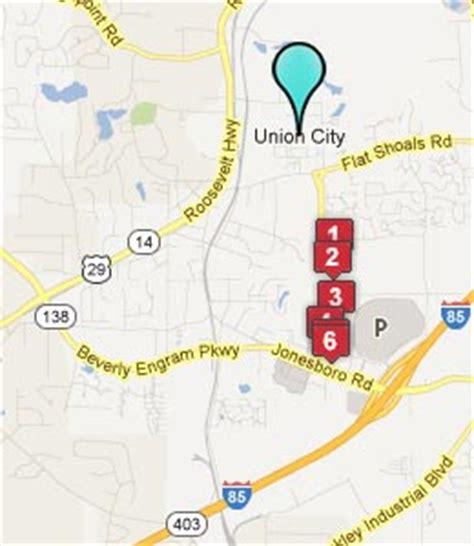 union city georgia map union city ga hotels motels see all discounts