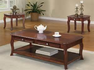 Living Room Coffee Table Sets Coffee And End Table Sets To Complete The Living Room