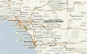 rancho mirage california map rancho mirage location guide
