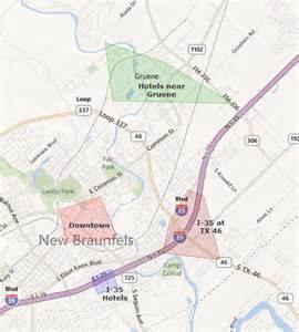 new braunfels map cheap hotel in new braunfels