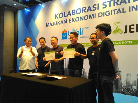 blibli investor go jek confirms investment and collaboration with global