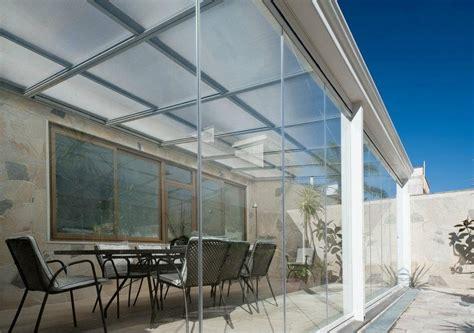 coperture per terrazzi in policarbonato coperture in policarbonato per terrazzi idee di design