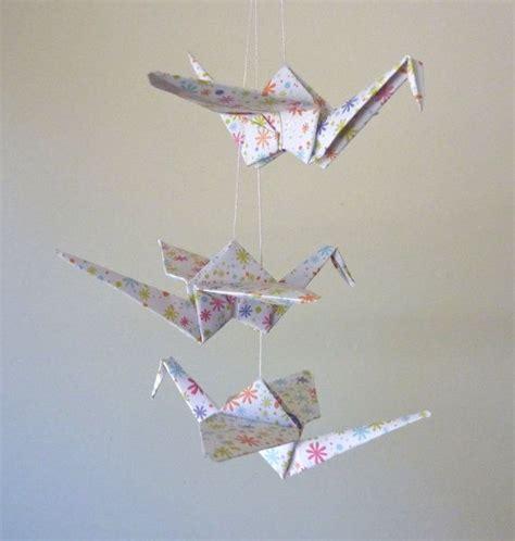 Origami Crane Mobile For Sale - baby mobile origami crane mobile children decor eco