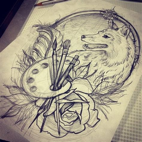 tattoo drawing table google search we heart it