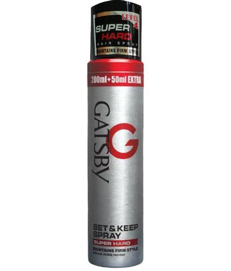 Jual Gatsby Hair Spray by Gatsby Set And Keep Spray 250ml Buy Gatsby
