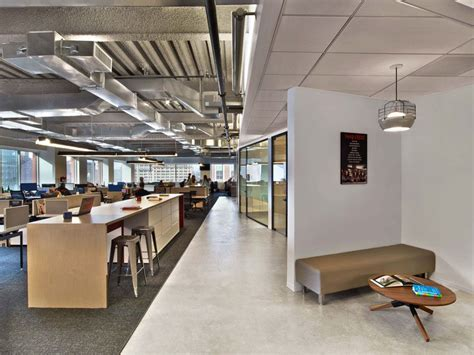 modern industrial office modern office with open space interior with industrial