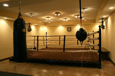 boxing wallpaper for bedrooms eclectic vintage style custom home modern home gym