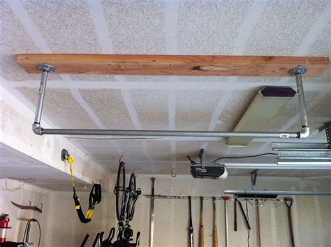 home made pull up bar wish list for garage