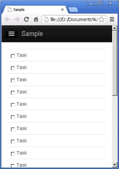 free bootstrap templates for rails bootstrap を使ってデザインしたアプリに sidr でメニューを作成 present