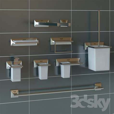 allure bathrooms 3d models bathroom accessories grohe allure brilliant