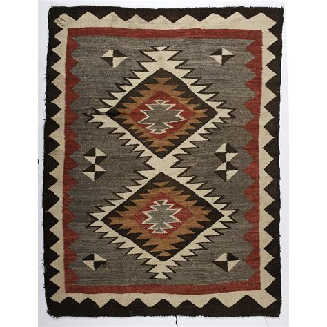 navajo rug auction navajo western reservation weaving rug cowan s auction house the midwest s most trusted