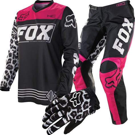 motocross gear womens fox racing hc 180 s package deal chaparral