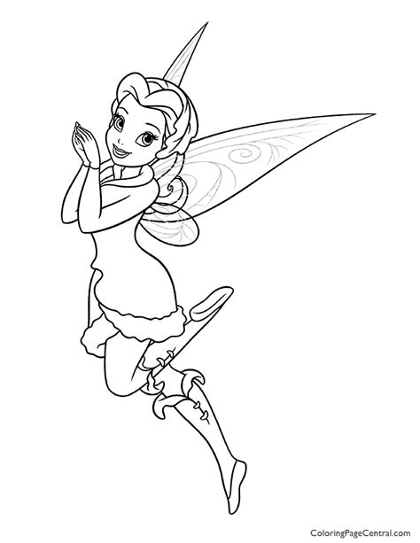 rosetta fairy coloring page tinkerbell rosetta 01 coloring page coloring page central