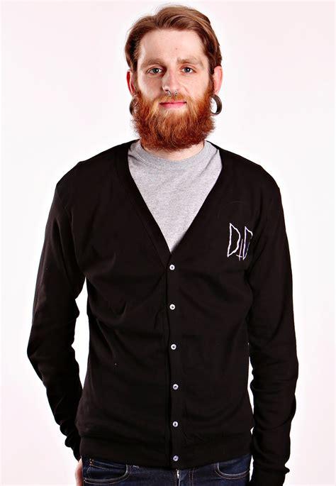 Sweater Jaket Dropdead Black drop dead bat cardigan impericon worldwide