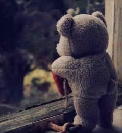 Bear broken heart sad image 323991 on favim com