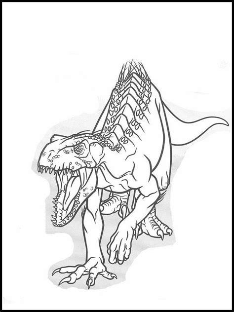 Jurassic World 35 dibujos faciles para dibujar para niños