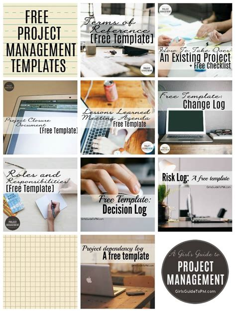 10 free tools for effective project management 10 free project management templates girl s guide to