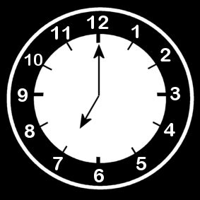 coloring page clock   oclock img  images