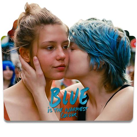 from blue is the warmest color blue is the warmest color 2013 folder icon by wisdoomer