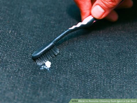 how to get chewing gum off a leather sofa how to remove chewing gum from a car seat 8 steps with