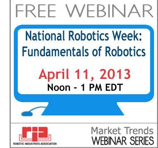 fundamentals of robotics fun national robotics week fundamentals of robotics