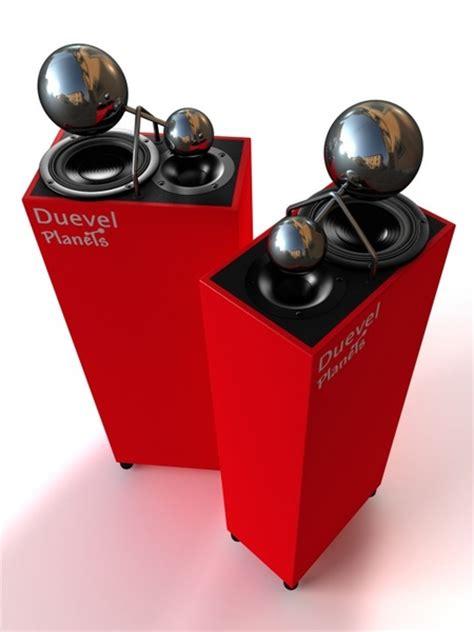 Planot Speaker by Duevel Omnidirectional Speaker Planets Black Pearls
