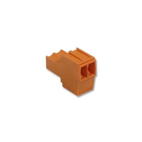 Terminal Blok 1 Orange No 6 bl 3 5 2 weidmuller socket block 2way ebay