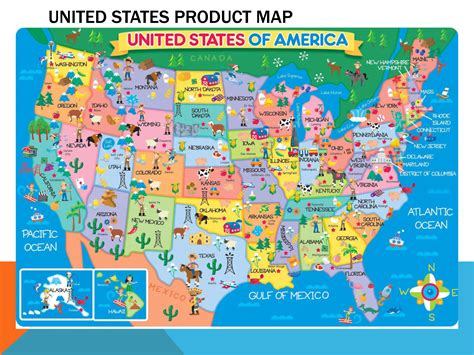 picture of map of usa large detailed product map of the united states usa