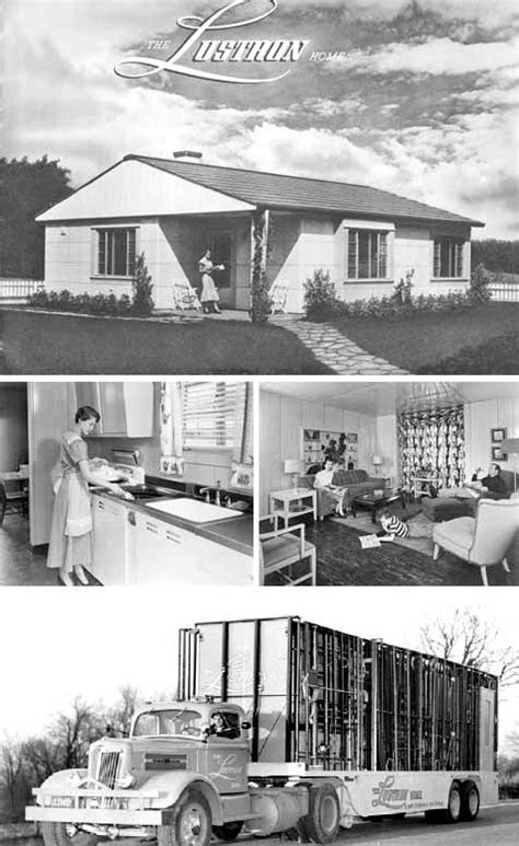 post world war ii prefabricated aluminum and steel houses lustron postwar prefab homes prefab homes