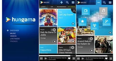 hungama music mejores aplicaciones para descargar musica gratis mp3 en