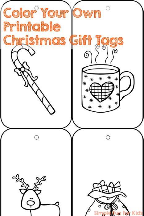 printable christmas gift tags to color christmas countdown day 7 color your own printable