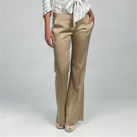 bcbg max azria womens antique gold pants  shipping