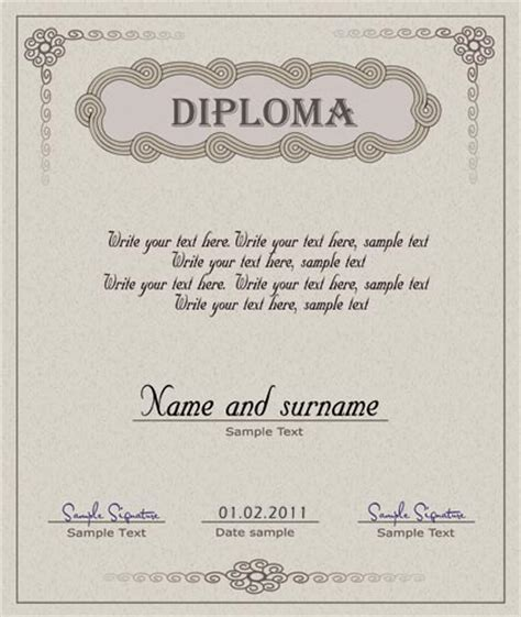 templates of certificates and diplomas diploma certificate and coupon template